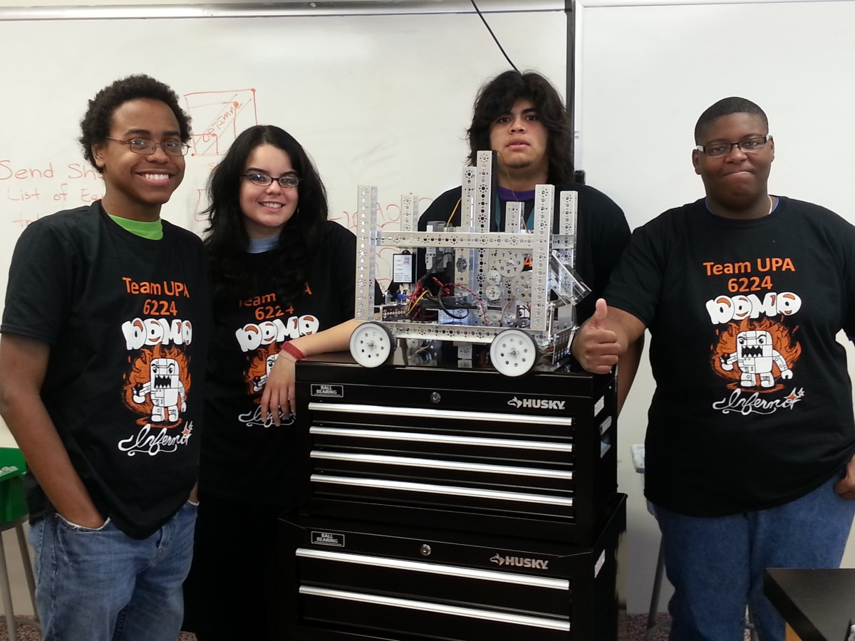 Urbanpromise Academy Robotics Team Tops In Motivation Urbanpromise